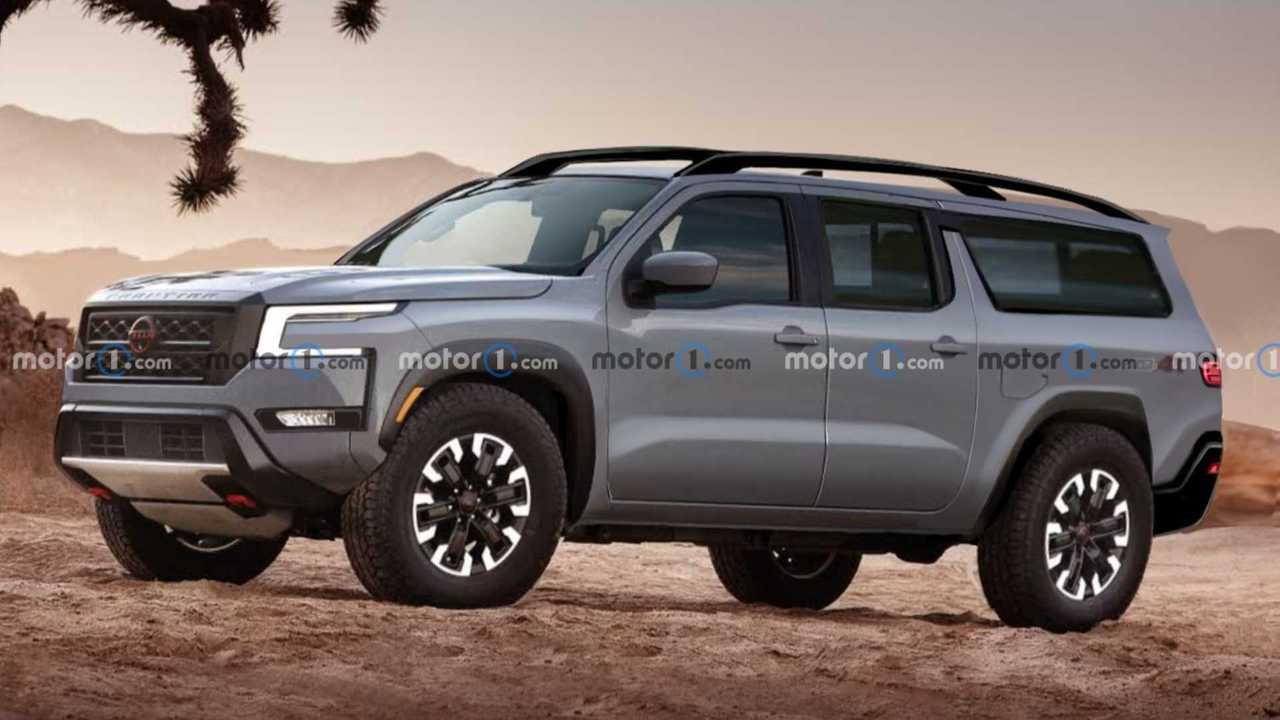 Nissan Xterra Speculative Rendering