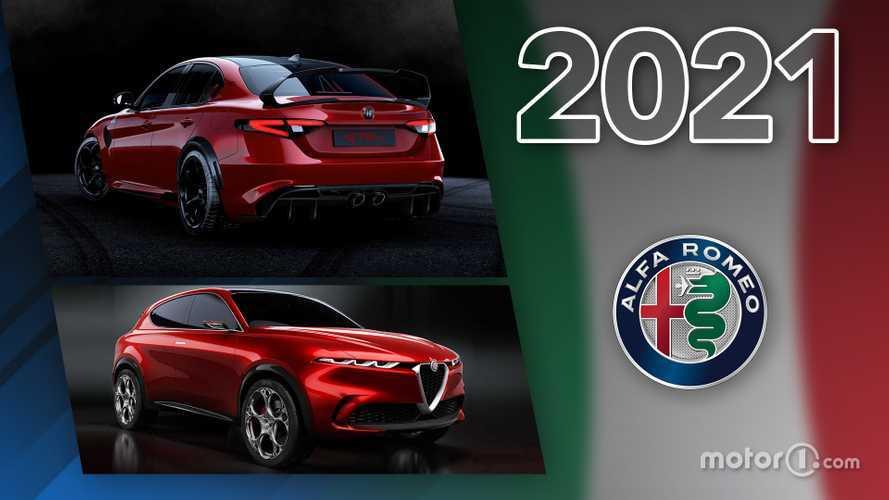 Novità Alfa Romeo, ecco tutti i modelli in arrivo nel 2021