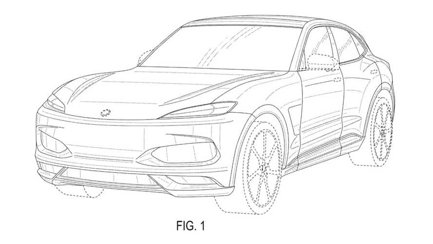 Karma SUV Patent Images