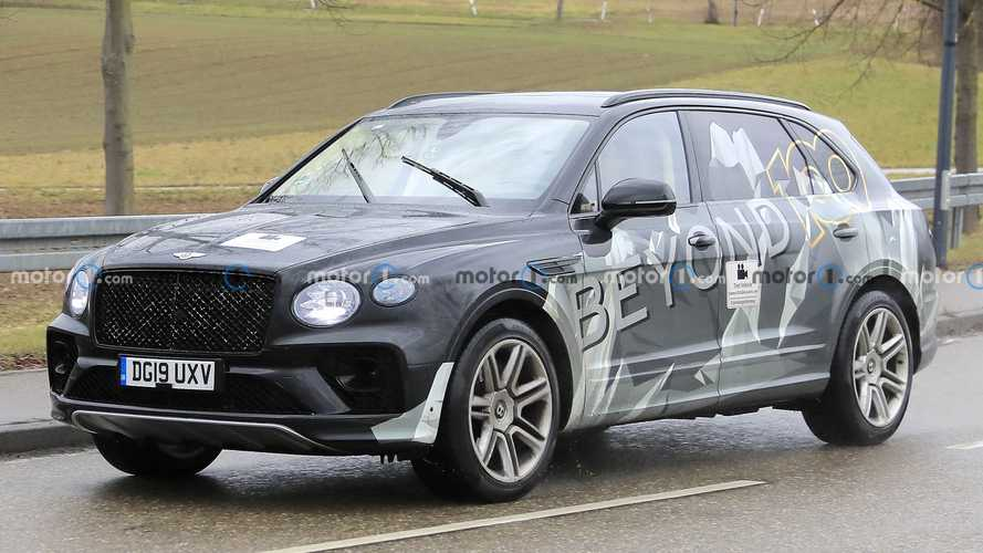 Bentley Bentayga LWB can't hide its elongated doors in new spy shots