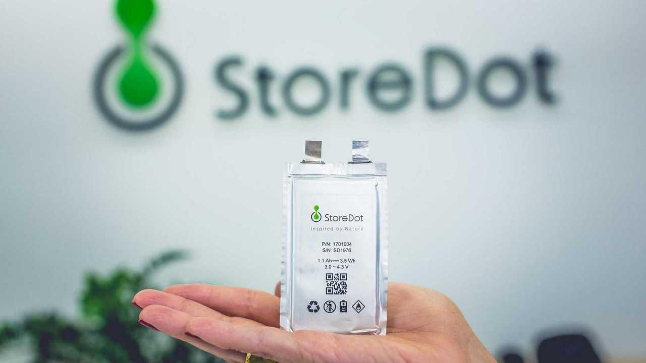 storeDot bateria