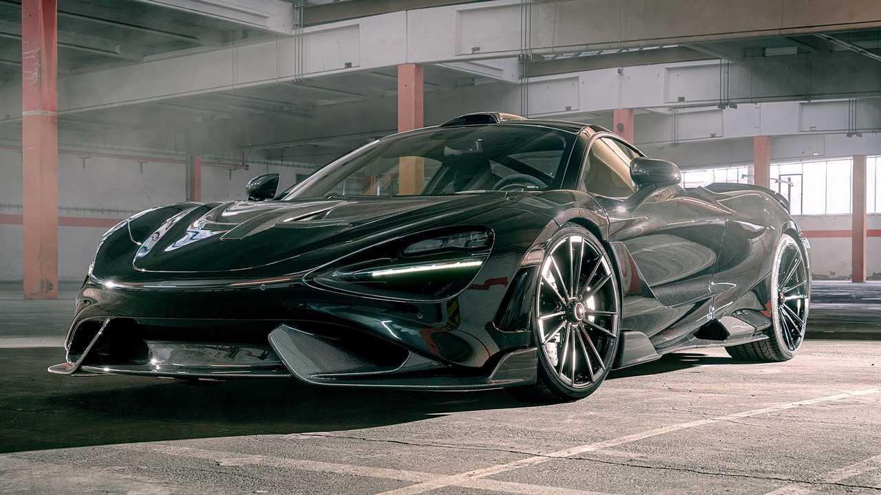 McLaren 765LT By Novitec Front 3/4