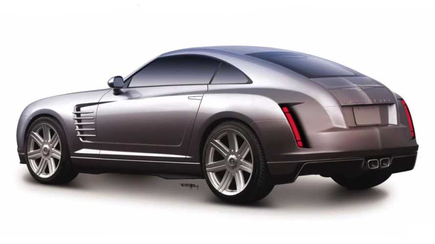 Chrysler Crossfire Gets Modern Makeover In Photoshop