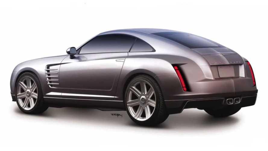 Maquillaje digital moderniza el viejo Chrysler Crossfire