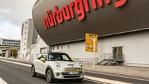 La Mini Cooper SE au Nürburgring