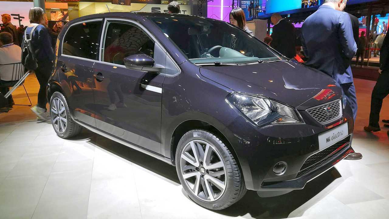 IAA 2019 - Elektroautos: Seat Mii Electric