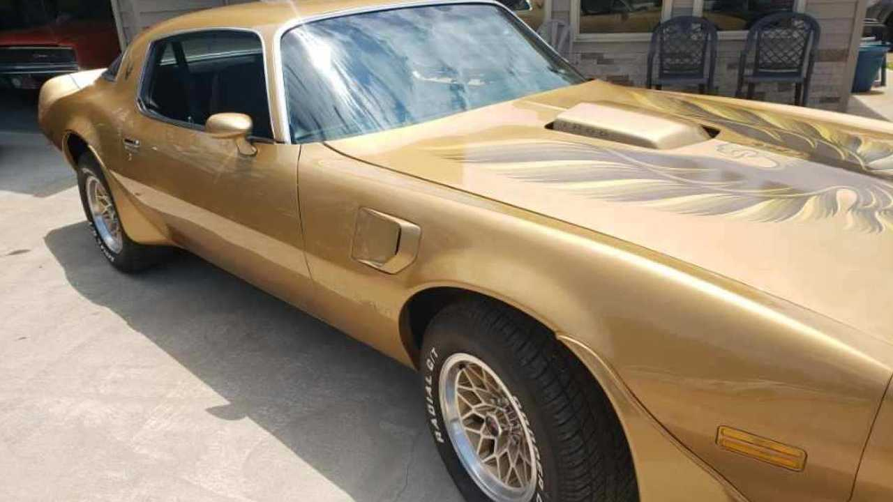 Gold 1978 Pontiac Trans AM Y88 To Cross The Auction Block