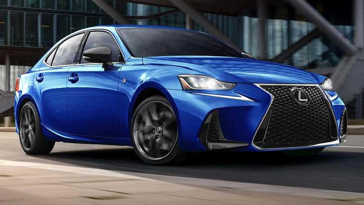 Lexus IS F Sport Blackline Special Edition