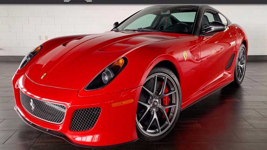 This Ultra-Rare 2011 Ferrari 599 GTO Can Be Yours For $789K