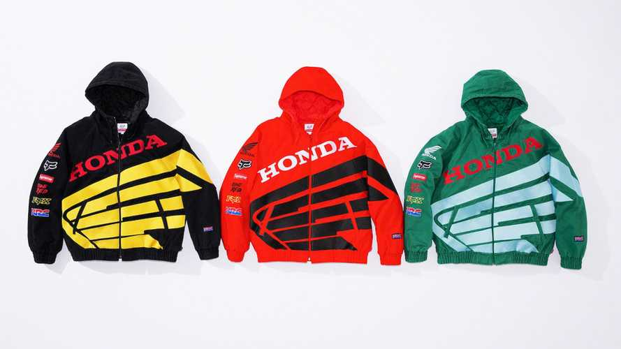 Streetwear Brand Supreme Collaborates With Honda And Fox For New Line