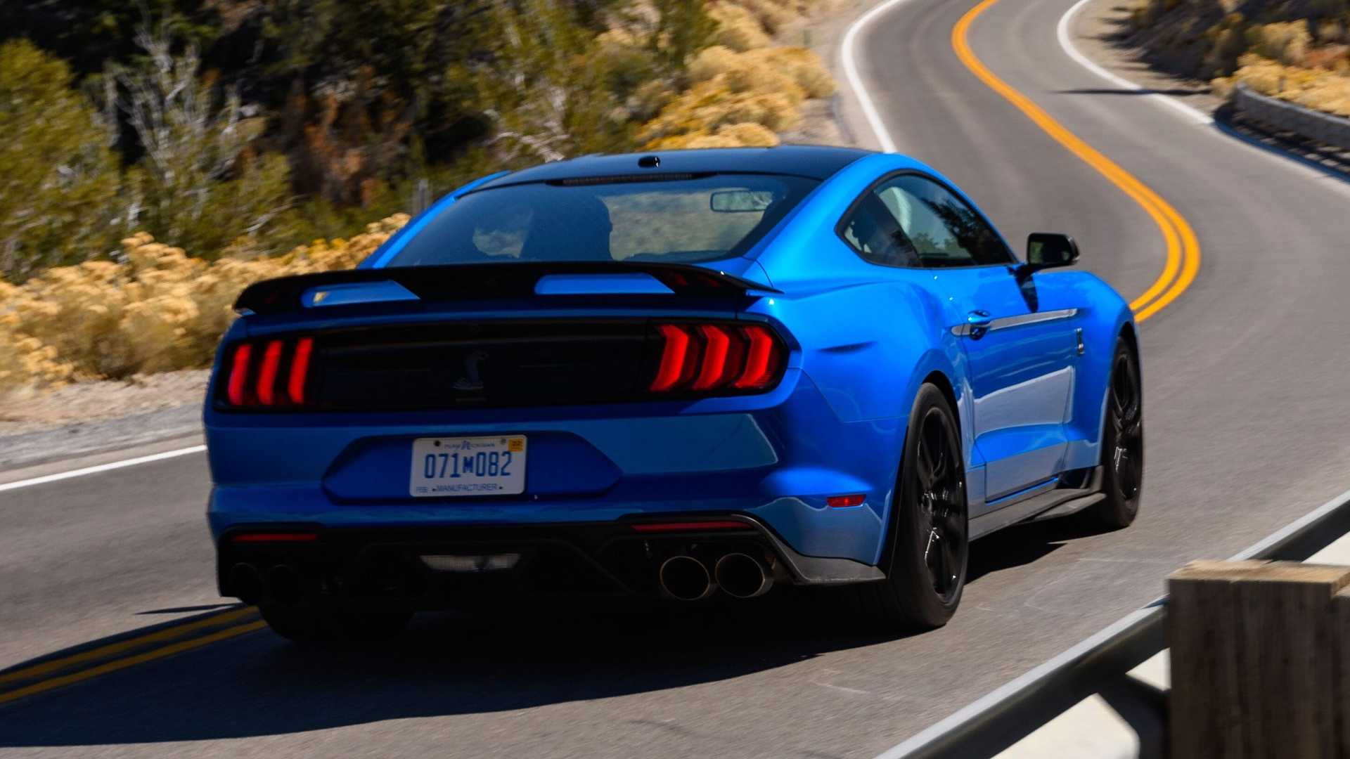 """[""""2020 Ford Mustang Shelby GT500: First Drive""""]"""