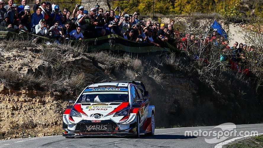 2019 Katalonya WRC: Tanak ilk WRC şampiyonluğunu garantiledi