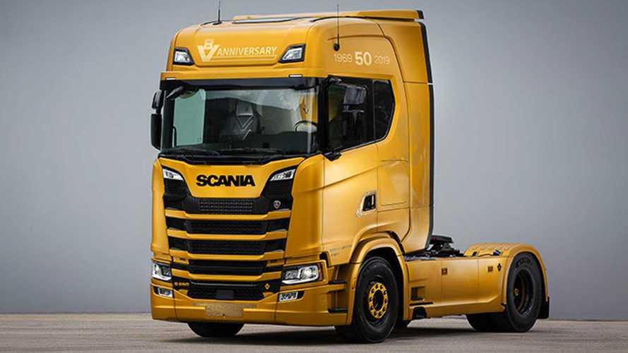 Scania V8 Anniversary, un' edizione speciale per il 40 anni del V8