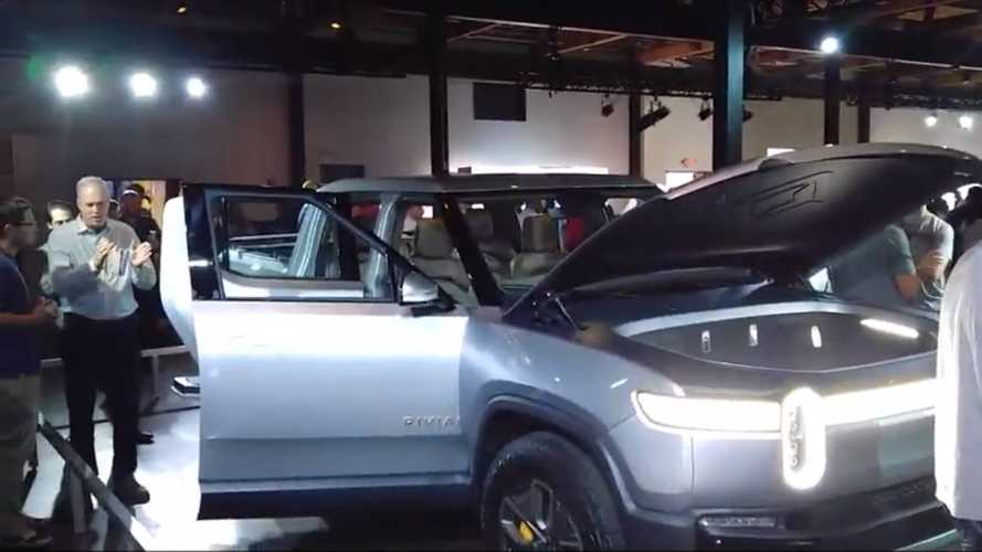 Rivian Shows Off R1T Electric Truck And R1S Electric SUV In Atlanta