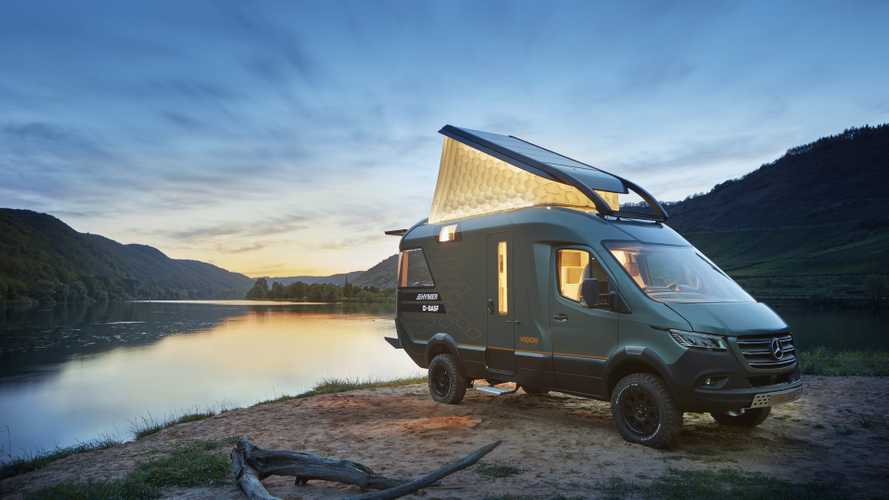 Hymer VisionVenture Concept, el futuro de las furgonetas camperizadas
