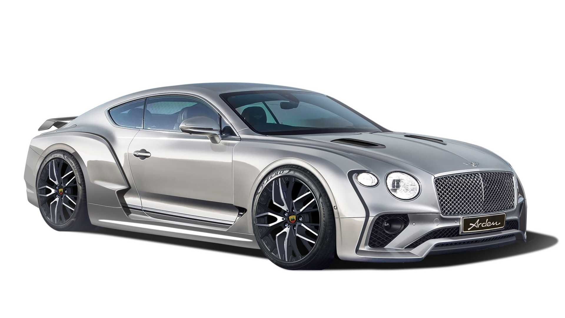 Arden Bentley Ab Iii Gives Widebody Swagger To The Continental Gt