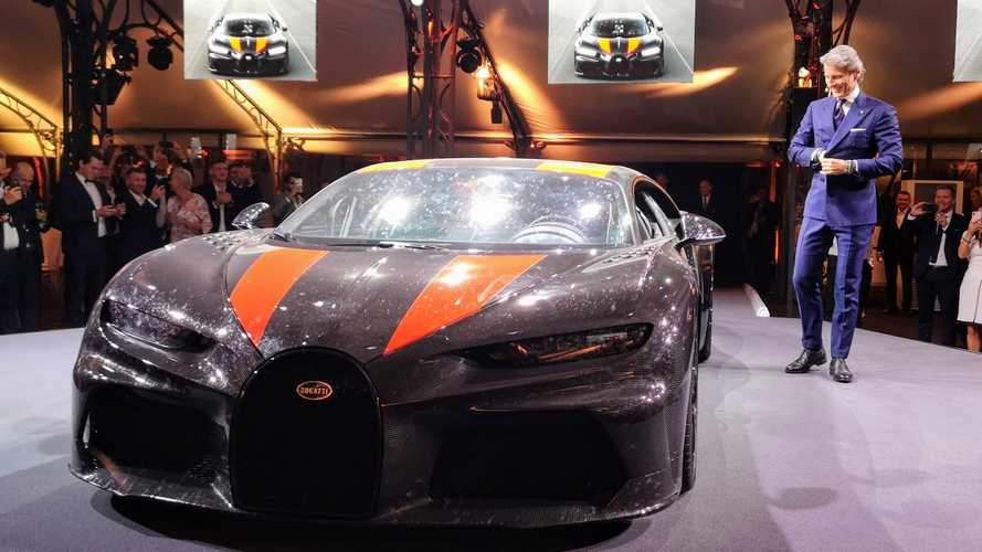 Bugatti Chiron Super Sport 300+ photos live