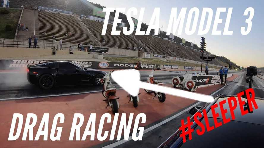 Can Tesla Model 3 Performance Beat a Tuned Corvette? What About Two?