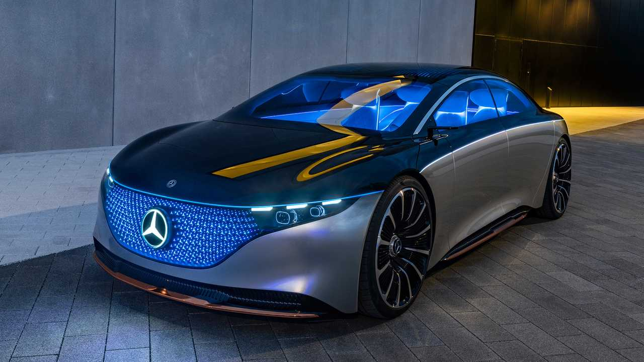 Mercedes Vision EQS (2019)