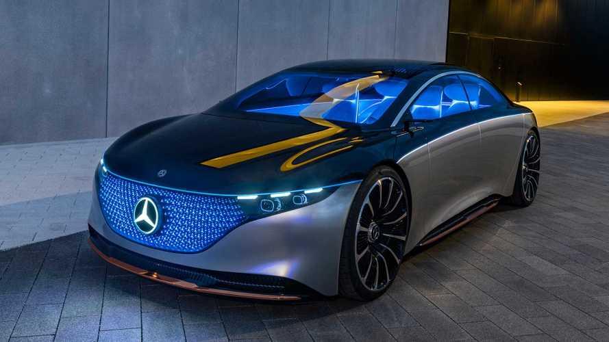 Mercedes Vision EQS: Oberklasselimousine auf neuer Elektro-Plattform
