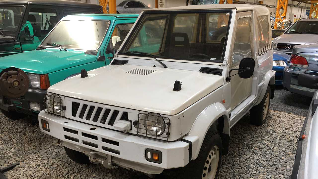 Italy's answer to the Suzuki Samurai?