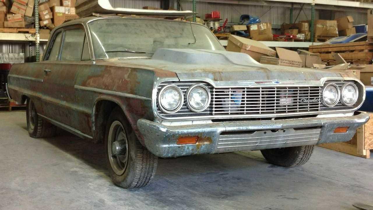 eBay Find: Barn Find 1964 Chevrolet Bel Air Two-Door