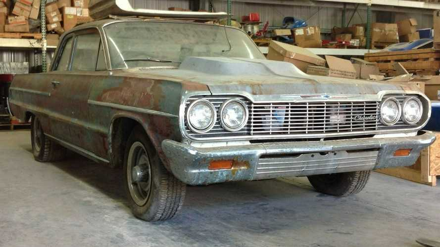 eBay Find: 1964 Chevrolet Bel Air Garage Find