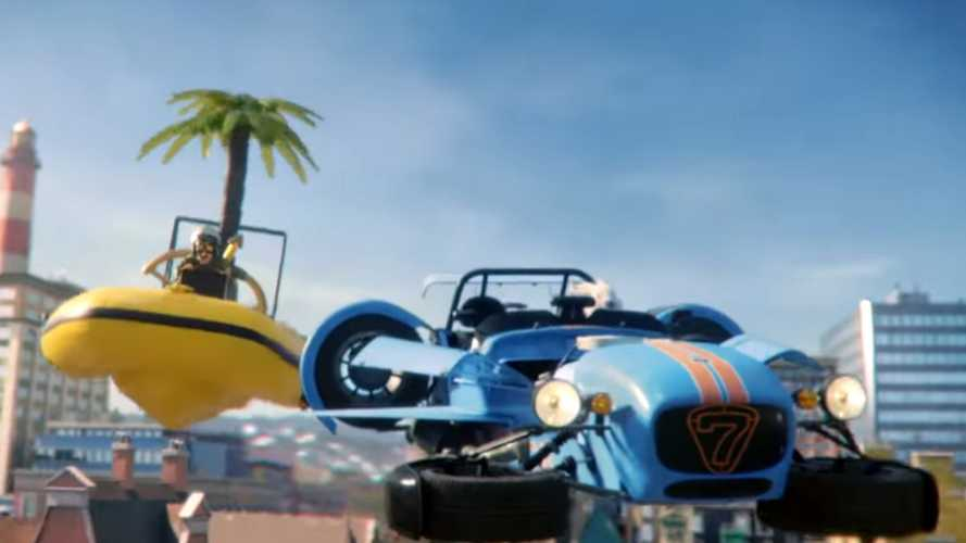 Lego Commercial Uses Classic Cars To 'Rebuild The World'