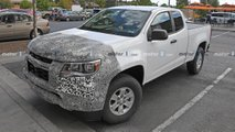 Chevrolet Colorado, GMC Canyon Facelift Spy Photos