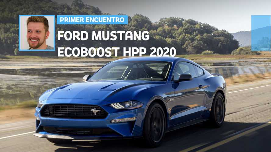 Primer encuentro: Ford Mustang EcoBoost HPP 2020, el anti-Mustang