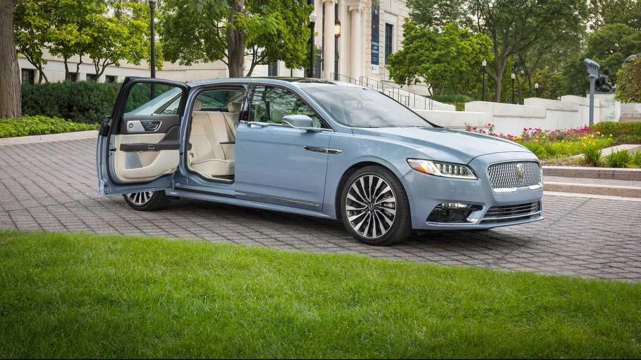 2020 Lincoln Continental Coach Door Versiyonu