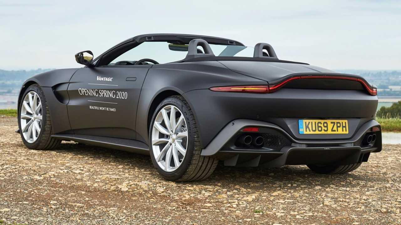 2021 Aston Martin Vantage Roadster prototype