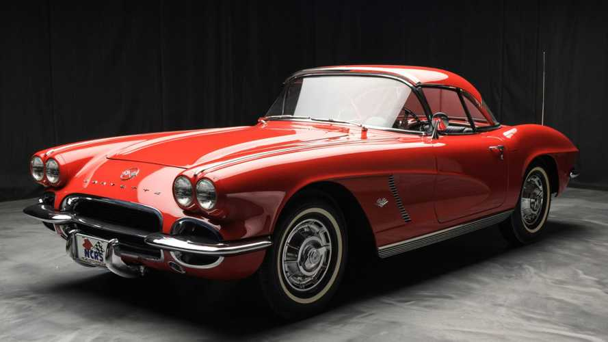 Treat Yourself To A Red 1962 Chevy Corvette