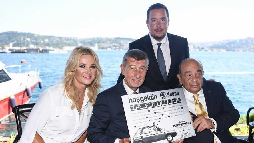 Çekya Başbakanı Babis'e Yüce Auto'dan Sürpriz Doğum Günü