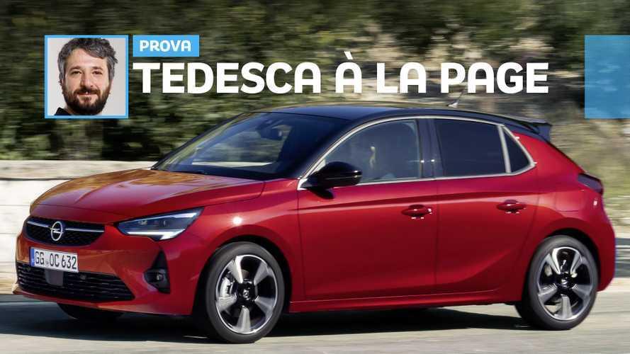 Nuova Opel Corsa, pragmatismo tedesco e morbidezza francese