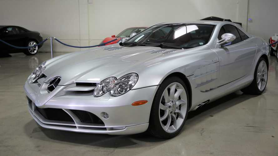 Touch The Stars In A 2005 Mercedes-Benz SLR McLaren