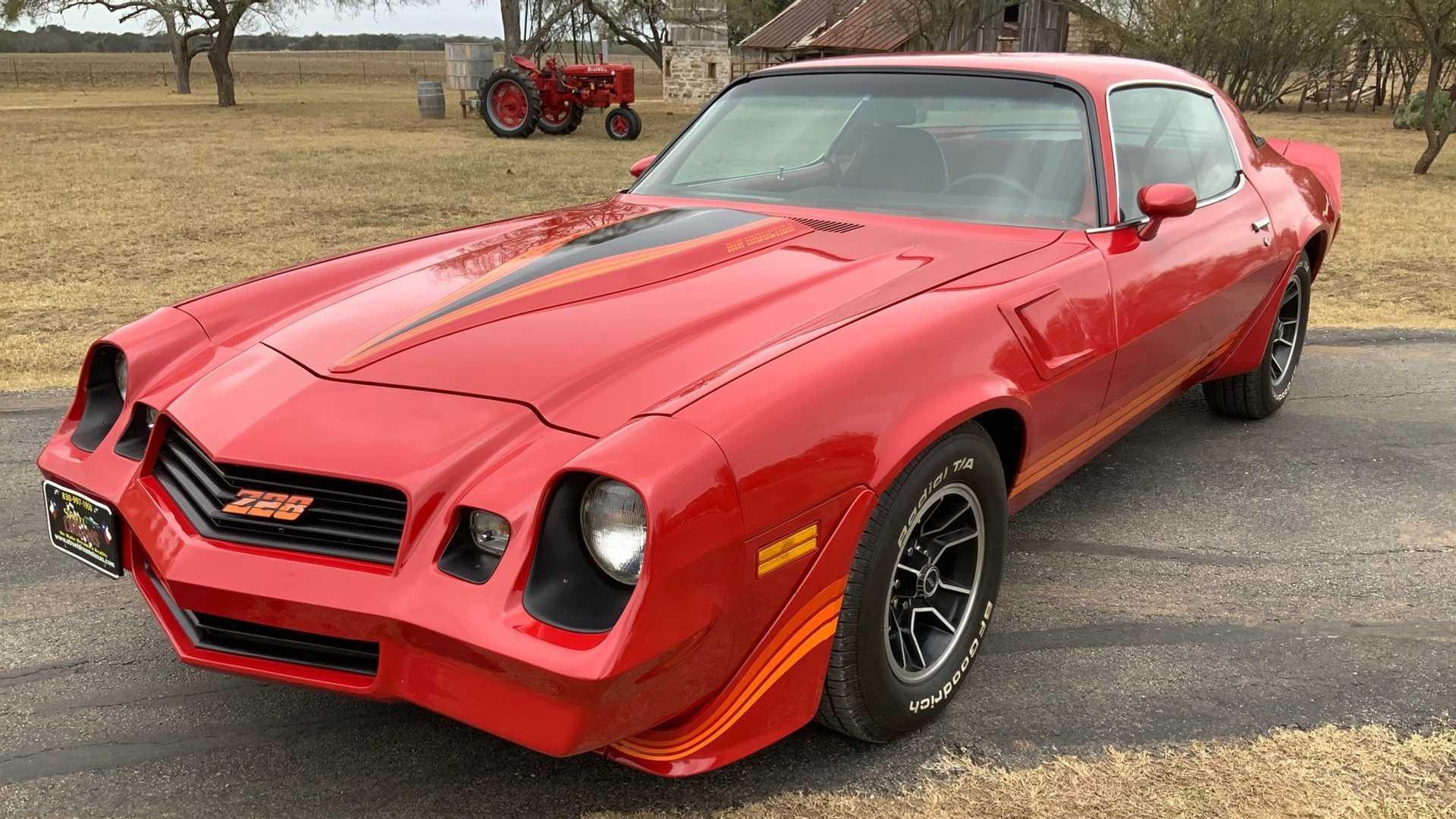 "[""Bang Gears In This Retro 1981 Chevrolet Camaro Z/28""]"
