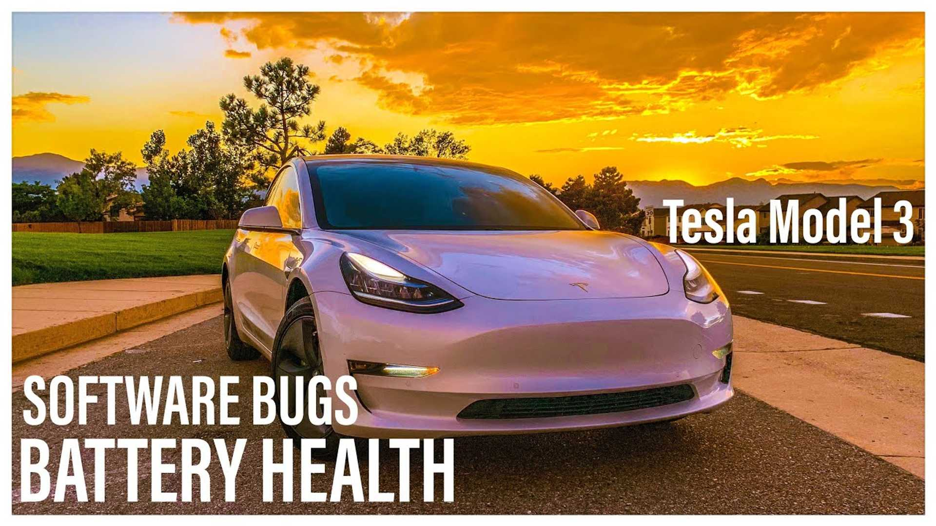 Tesla Model 3 Standard Range Plus Battery Health / Degradation