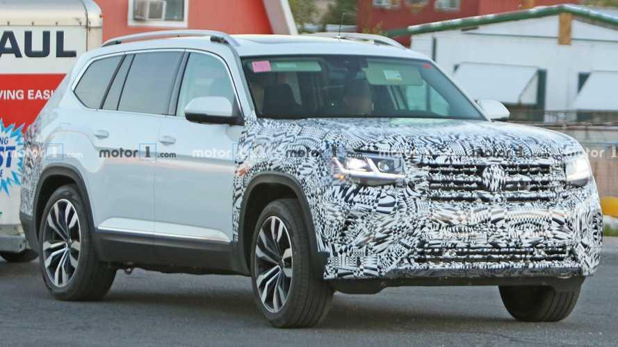 Volkswagen Atlas actualizada espiada por primera vez