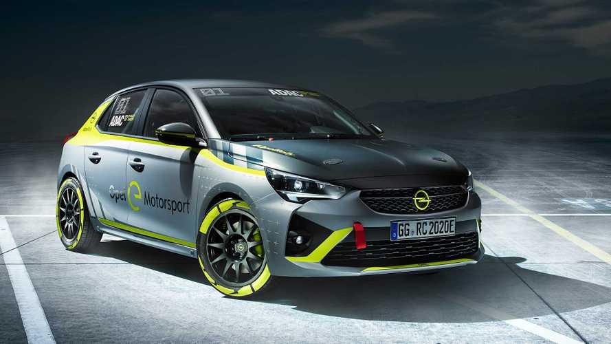 Opel Corsa e-Rally - Pour la compétition clients
