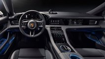 porsche taycan interior revealed official