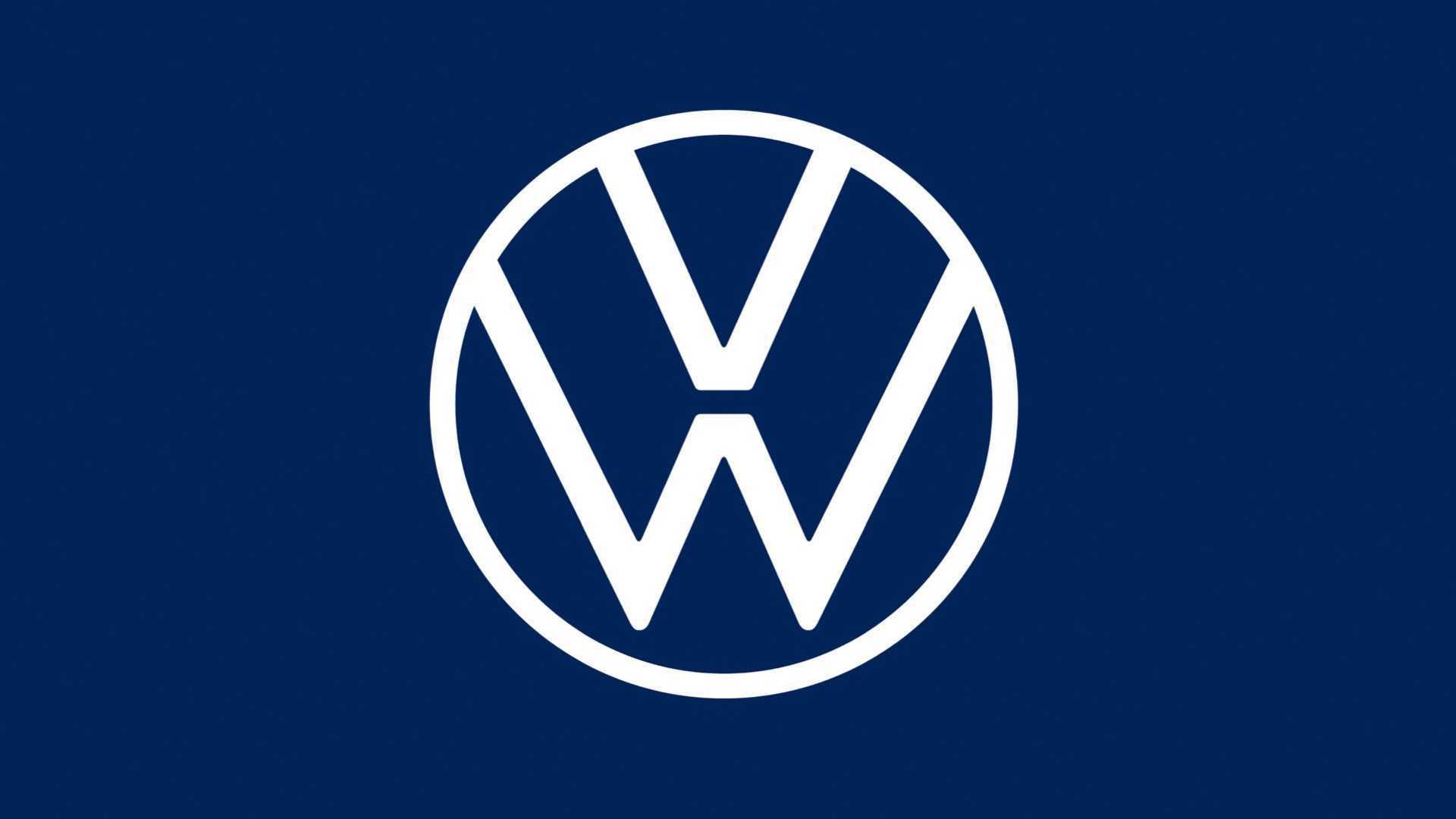 Volkswagen Unveils New Logo To Kick Off Electrified Era