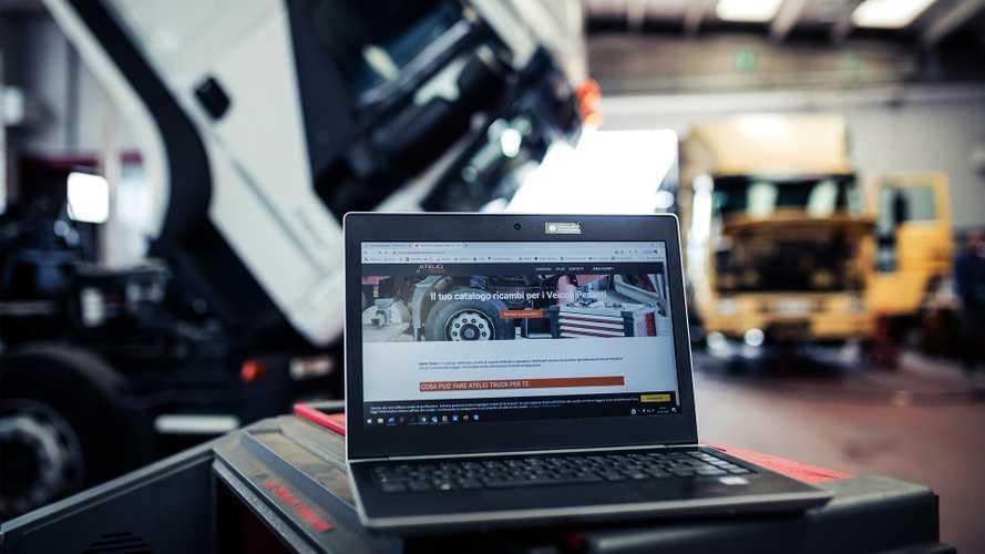 Ricambi, con Atelio Truck arriva il catalogo online