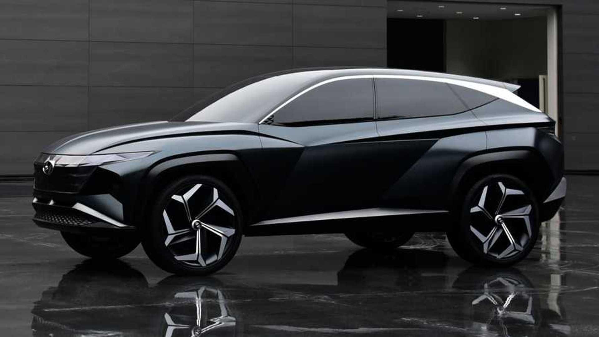 Hyundai Vision T Concept Previews Brand's Future SUV Design Language