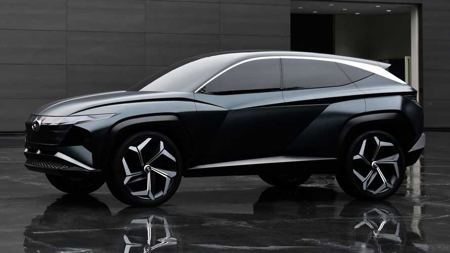 Hyundai Vision T PHEV Concept Previews Brand's Future SUV Design Language