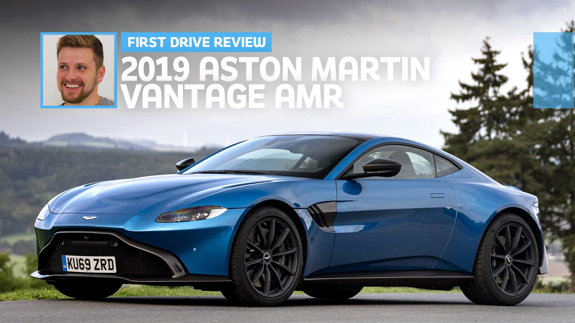 2019 Aston Martin Vantage Amr First Drive Paradigm Shift
