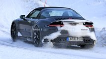 Porsche 911 Targa Spy Photos