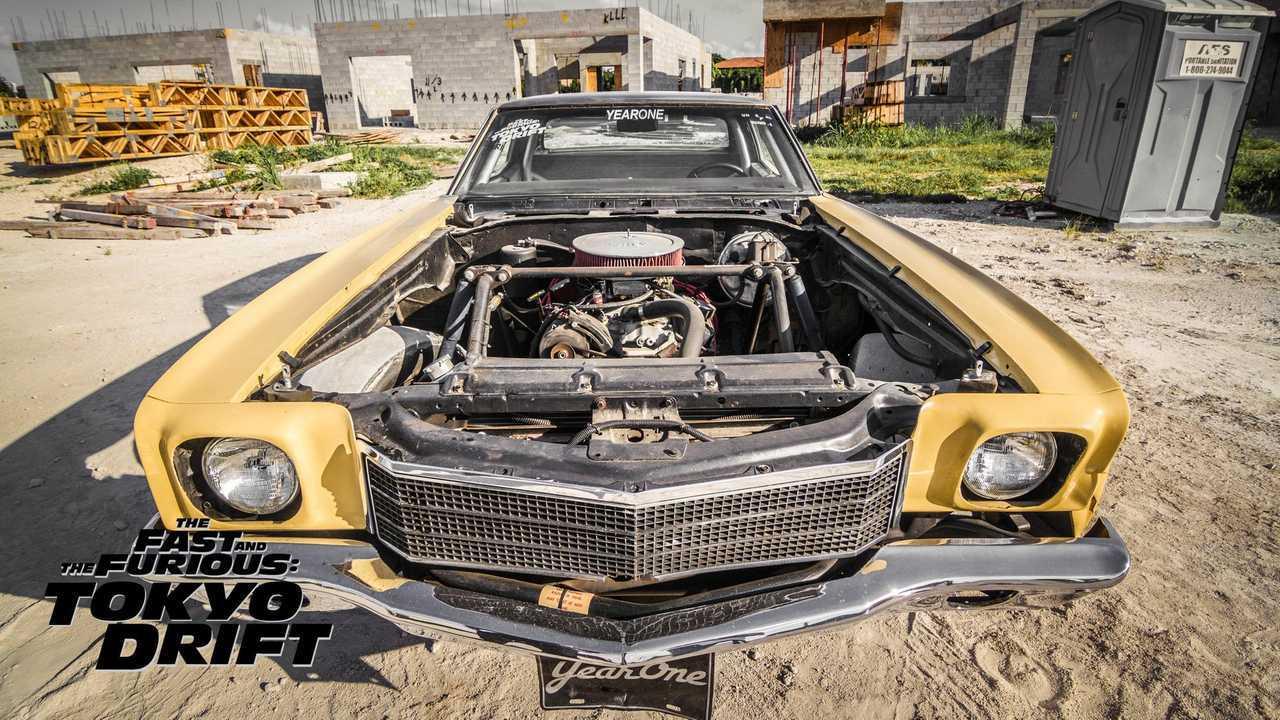 1971 Chevy Monte Carlo Fast and Furious: Tokyo Drift Hero Car