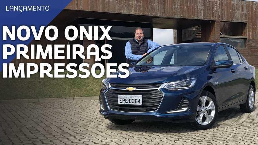 Vídeo: Chevrolet Onix Plus Premier 2020 em detalhes