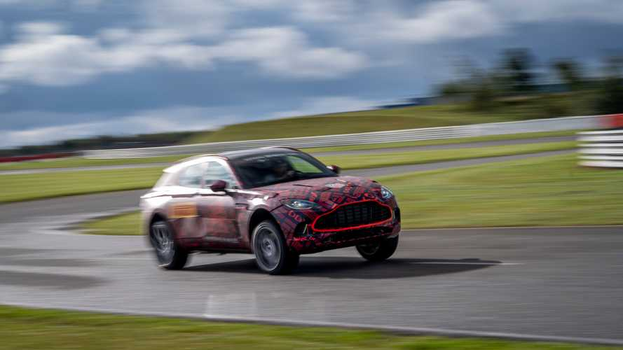 Aston Martin DBX, derniers tests